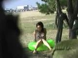 Sharking Girls In Bikini At The Pool
