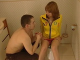 Russian Teen Svetlana Shevchenko Gets Anal Fucked In Bathroom