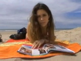 Old Fart Talked Stupid Girl To Come At His Beach House And Fuck For Money