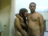 Blackmailed Amateur Arab Married Couple Forced To Fuck Infront Of Camera