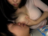 Teen Son Is Having Bad Dream and Busty Mom Akane Yoshinaga Will Do Everything To Calm Him Down