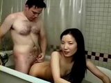 Asian teen getting a fucking