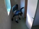 Japanese Teen Coed Schoolgirl Gets Raped In Public Toilet By Masked Guy