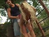 Helping Girlfriends Stepmom In The Garden