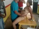 Drunk Cuban Waitress Gone Wild With The Costumers After Hours  Amateur Mobile Phone Video