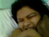 Desi Housewife Biting Her Own Tits In Ecstasy