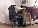 Boss Couldnt Resist Not To Grab Busty Secretary For Big Ass
