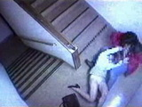 Security Camera Tapes Maniac Raping Woman On The Stairs Rape Fantasy