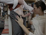 British Book Seller Lady Paige In Stockings Gets Fucked In The Bookstore