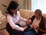 Harsh Mother Miki Sato Tricks Her Teenage Son Into Incest