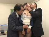 Hot Business Milf Reiko Kobayakawa Blackmailed and Fucked in her Office