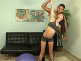 18 YO Teen Seduce Her Fitness Instructor
