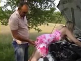 Milfs Car Broke In The Middle Of Nowhere End Up With Fuck