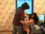 Angry Russian Boss Rapes His Secretay at the Office  Rape Fantasy