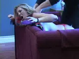 Sexy Blonde Gets Brutally Strangled and Raped In Her Hotel Room