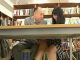 Japanese Schoolgirl Gets Molested In A Library By Perverted College Professor And Taken To a Toilet Where Hard Fucked