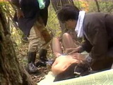 Asian Woman Gets Raped In the Woods By 2 Guys