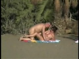 Mature Couple Keeps On Getting Disturbed While Trying To Fuck On The Beach