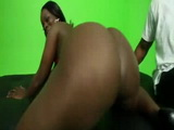 Bootylicious Ebony Doggystyled Hard