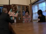 Drunk Father Humiliates Mother Yumi Kazama Infront Of Embarrassed Sons