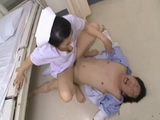 Sexy Japanese Nurse Dominates Patient All Over Hospital