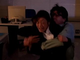 Temporary Blinded Office lady Gets Brutally Raped By Janitor