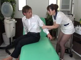 Unsatisfied Customer at Beauty Salon Gets Cheered Up By Newbie Worker Yui Hatano
