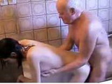 Mouthwatering Grandpa Gets A Taste Of Fresh Young Pussy