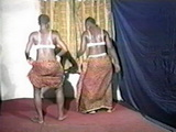 Real African Native Women Booty Dance and Striptease